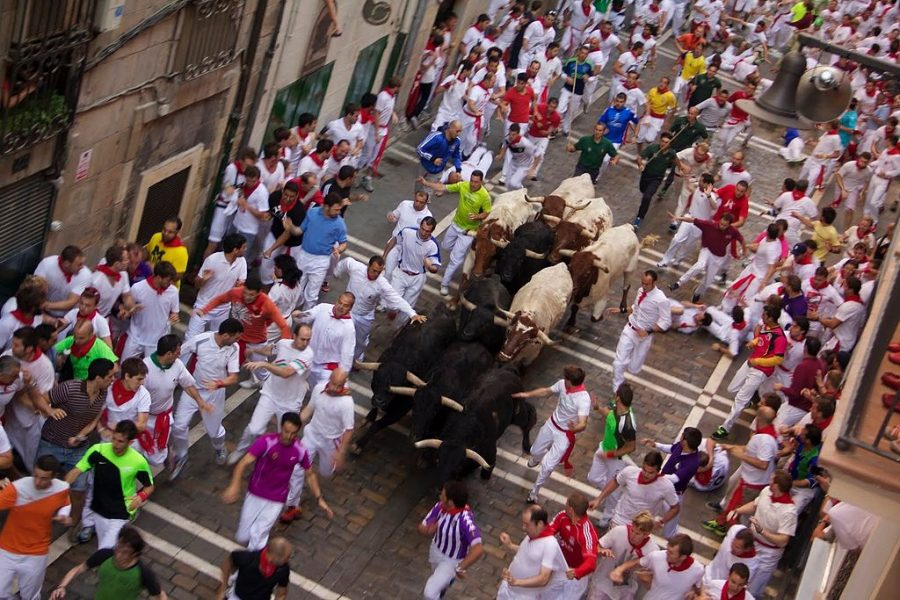 San Fermín Running of the Bulls (10 – 15 Jul)